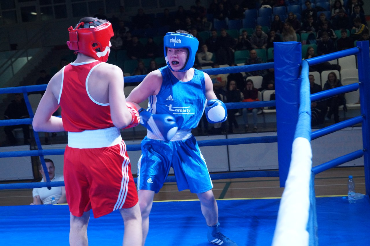 Championship of Russia on boxing among juniors