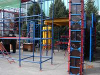Фанера SyPly активно используется в производстве опалубочных систем (фотография с выставки KazBuild 2008 Казахстан, Алматы, 12-15 марта 2008 года)